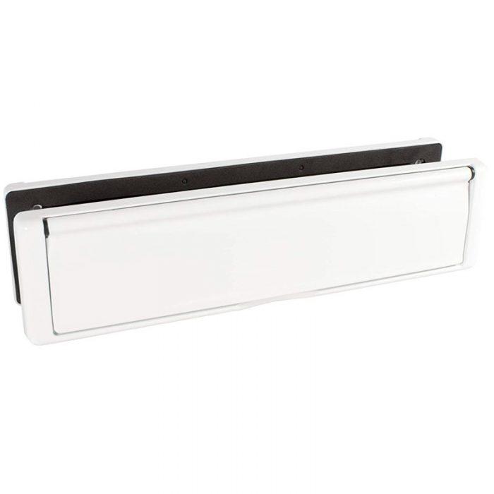 heavy duty letterbox white
